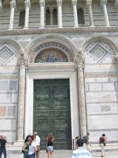 Pisa Cathedral door