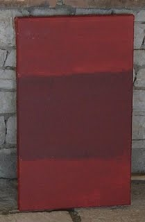 Rothko Homage: Red on Red on Red