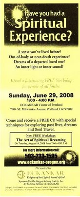 Spiritual Brochure